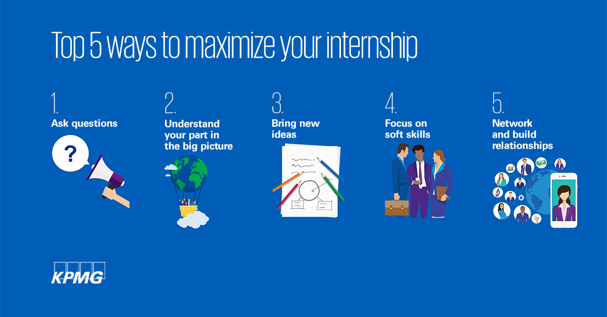 Five ways to maximize your internship experience