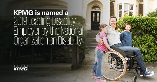 KPMG honored as a leading disability employer - thumbnail image