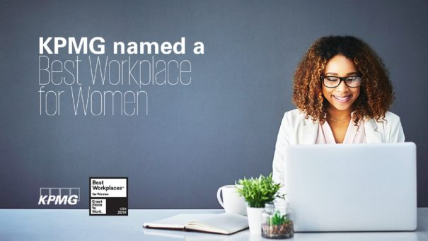 KPMG again named a Best Workplace for Women - thumbnail image